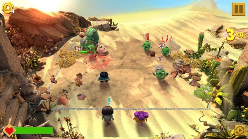 Angry Birds Evolution битва