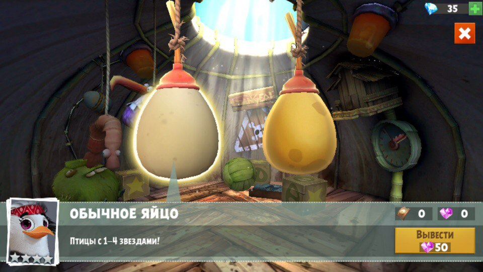 Angry Birds Evolution_яйца