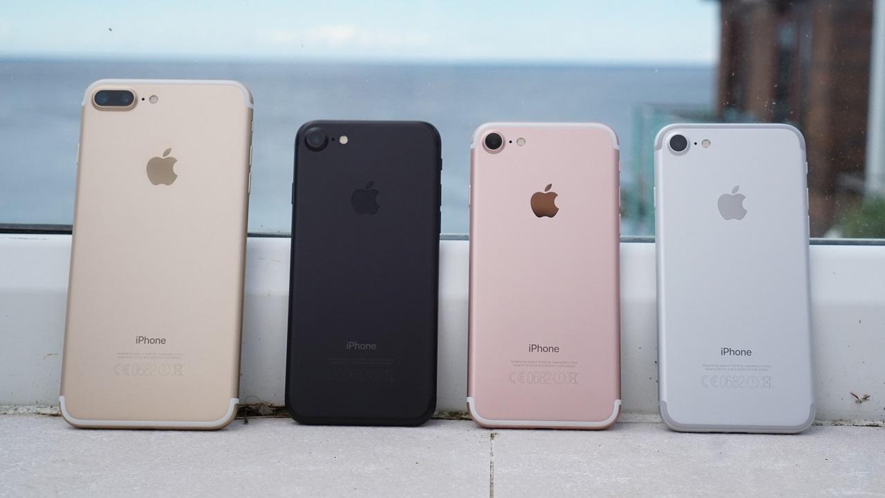 Внешний вид iPhone и iPhone 7 PLUS
