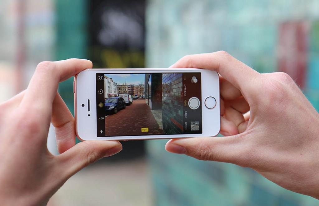 Камера и аккумулятор iPhone SE