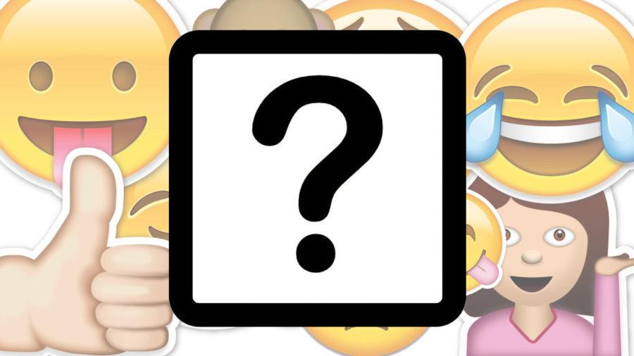 смайлик знак вопроса в квадрате на айфоне