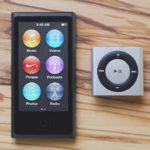 Прощайте iPod nano и iPod shuffle