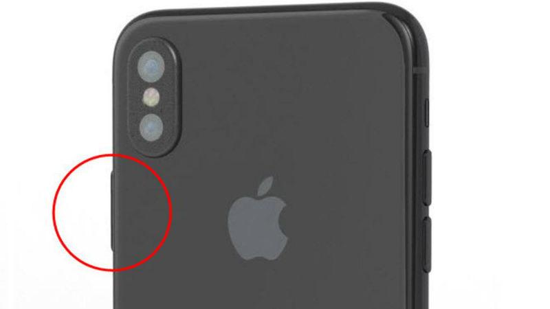 Touch ID в кнопке блокировки iPhone 8