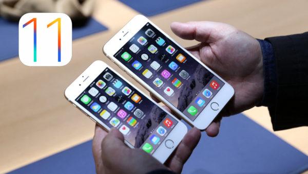 iOS 11 на iPhone 6 и iPhone 6 PLUS