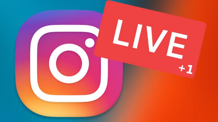 Instagram создали трансляцию на два человека