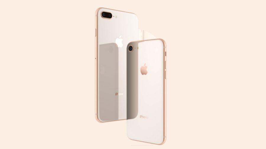Внешний вид iPhone 8 и iPhone 8 PLUS