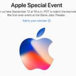 Официальная дата презентации iPhone 8