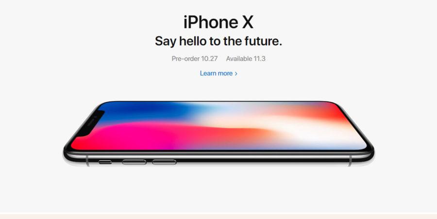 Старт продаж iPhone X (10)