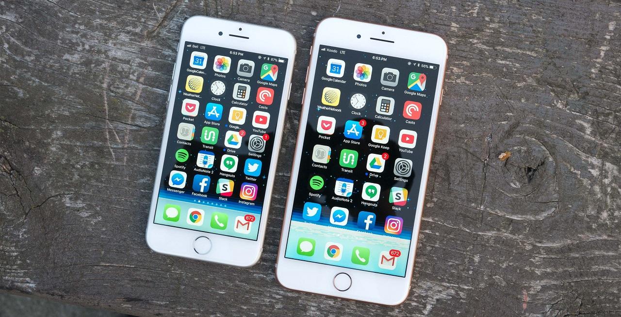 Что лучше iPhone 8 или iPhone 8 PLUS