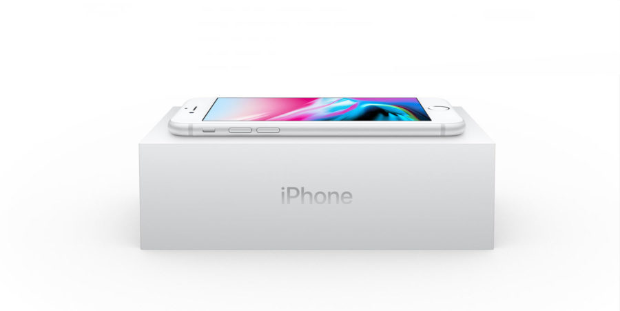 комплект поставки iphone 8