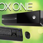 Xbox One будет поддерживать клавиатуру и мышь