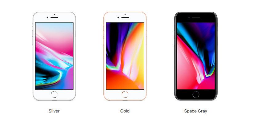 iPhone 8 все цвета