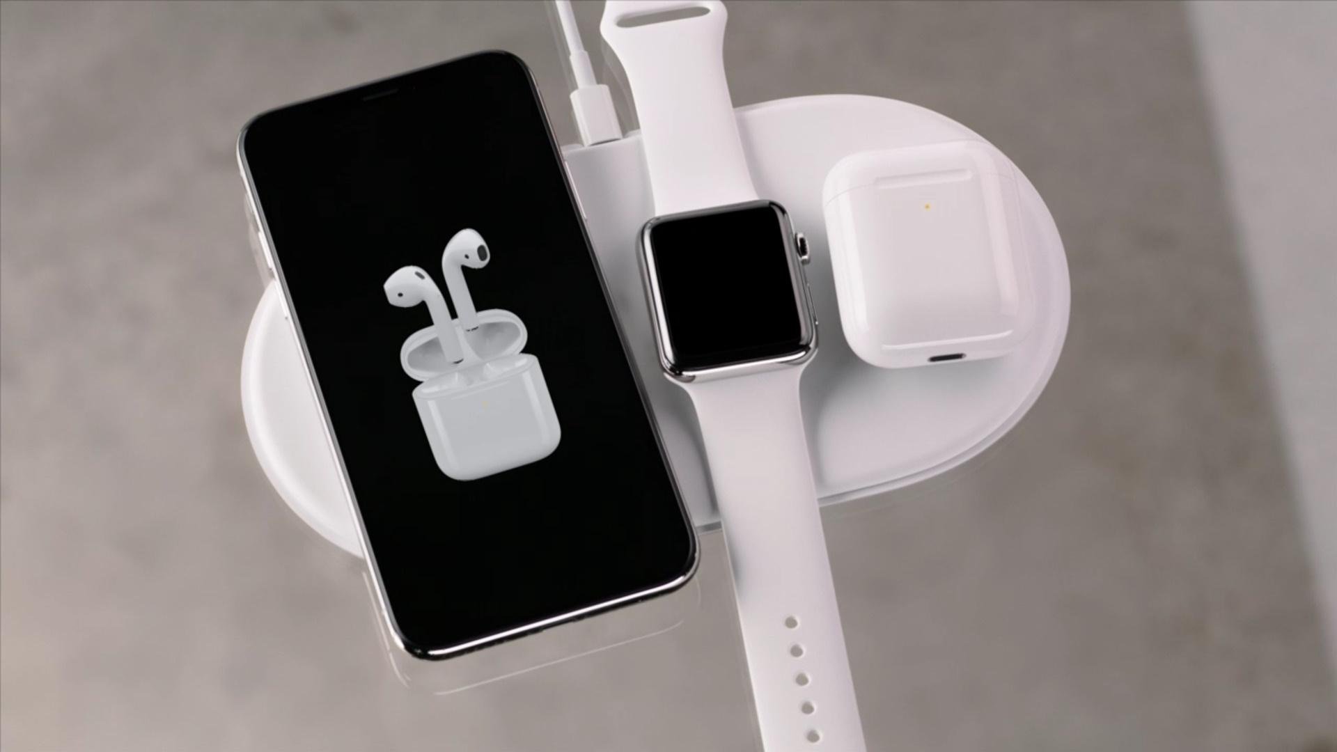 Беспроводная зарядка в iPhone X