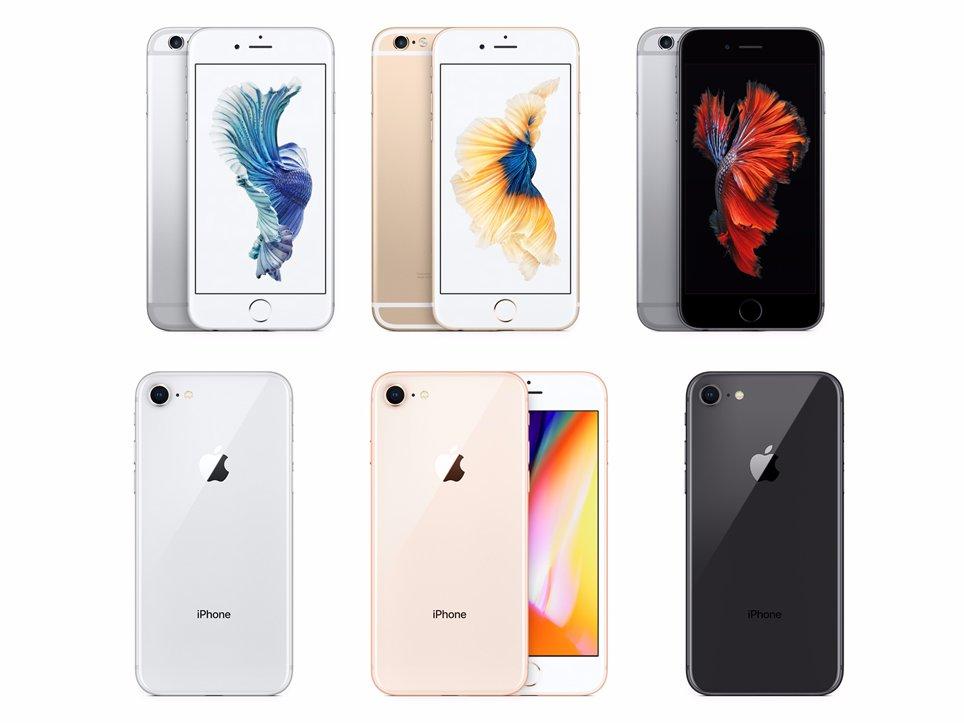 айфон 6 и айфон 8 отличие