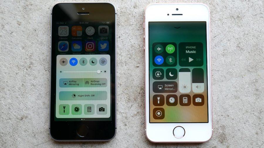 обновление iphone se до ios 11