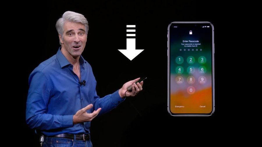 iPhone X провал с Face ID