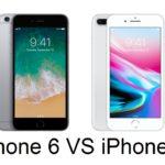 Cравнение iPhone 6/6 Plus и iPhone 8/8 Plus