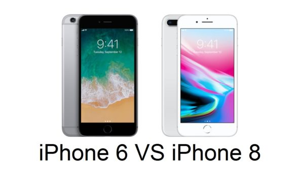 iphone 6 vs iphone 8