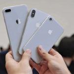 Какие iPhone вышли в 2017 году?