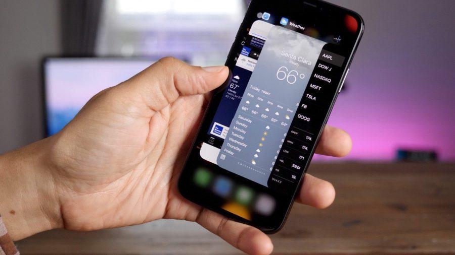 Как закрыть программу на iPhone X (10)