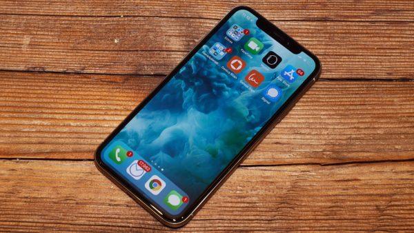 Экран iPhone X (10) не реагирует на холоде