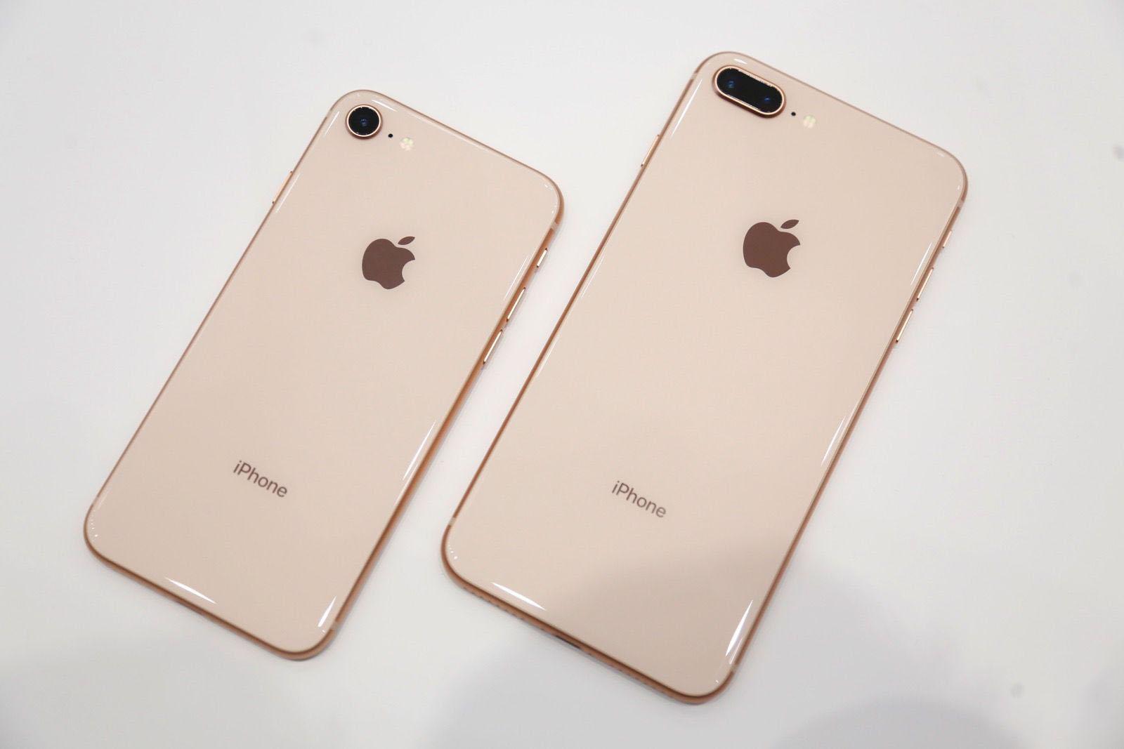 iPhone 8 и iPhone 8 Plus