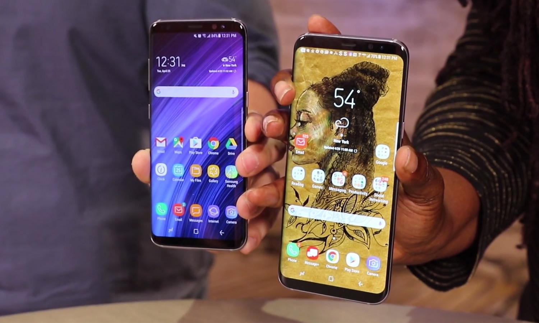 Дизайн Samsung Galaxy S8 и Samsung Galaxy S8+