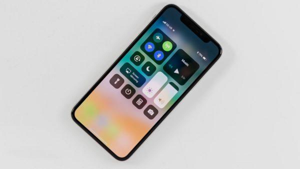 заряд аккумулятора в процентах iphone x 10
