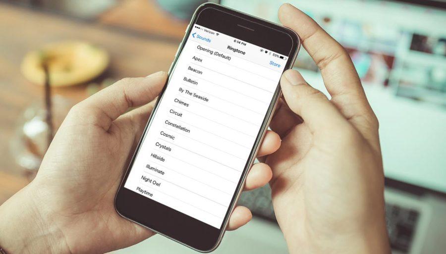 создать рингтон для iphone в itunes 12.7