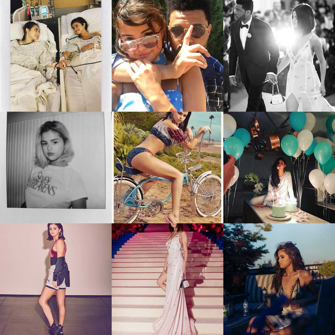 Best Nine Selena Gomez
