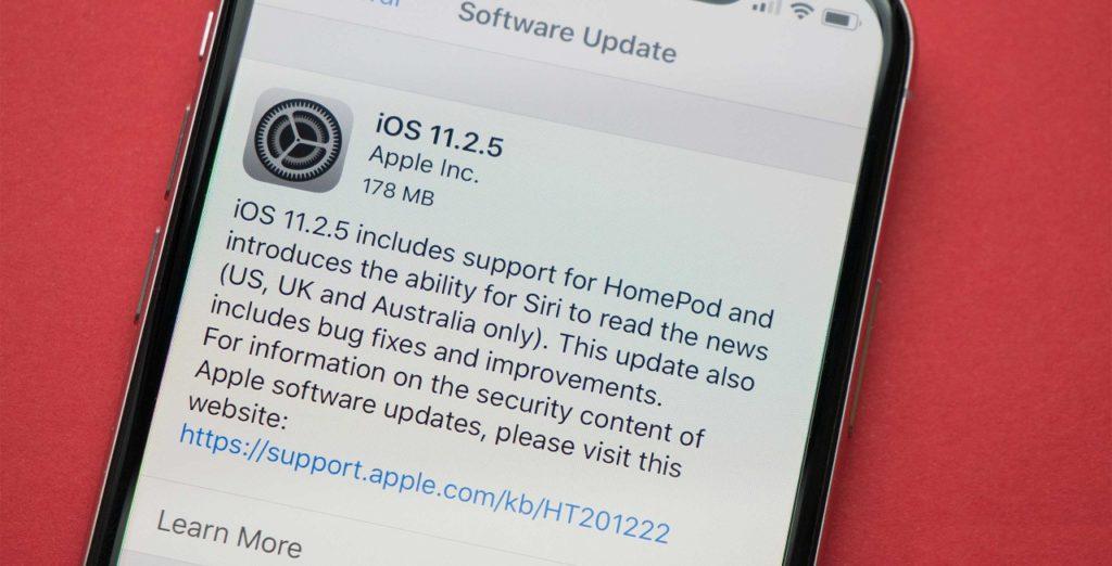Скачать iOS 11.2.5