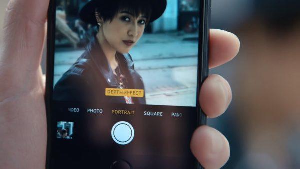 Функция портрет iPhone 6S, iPhone 7, iPhone 8
