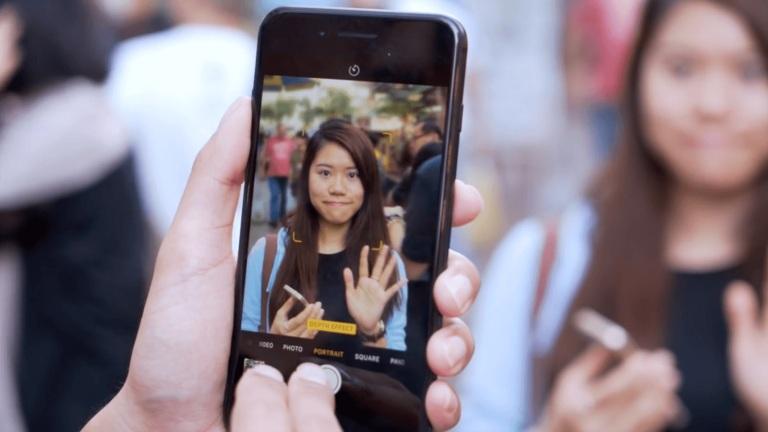 Эффект портрет на Айфоне 6s, 7 и 8