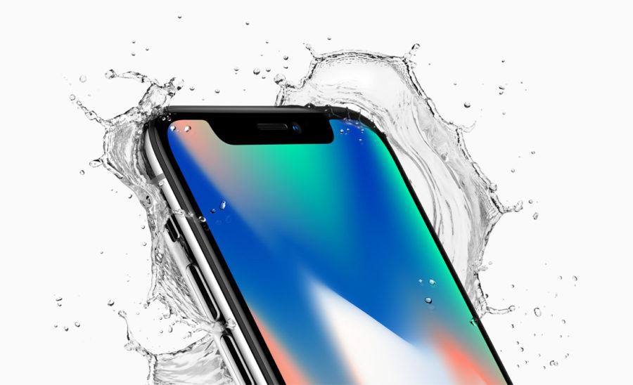 iPhone X 10 водопроницаемость