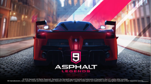 Вышел Asphalt 9 Legends