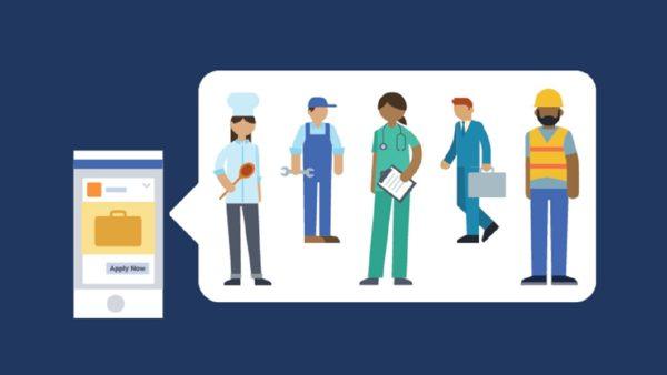 Поиск работы через Facebook теперь доступен в 40 странах