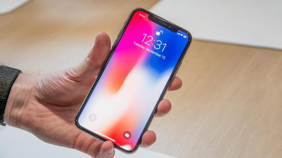 iPhone X Front Side
