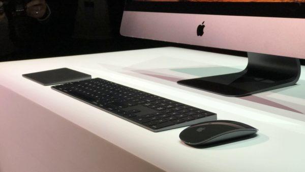 Аксессуары для iMac Pro теперь продаются по отдельности
