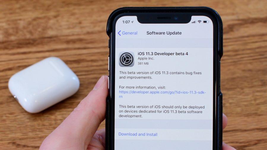 Главные изменения в iOS 11.3 beta 4