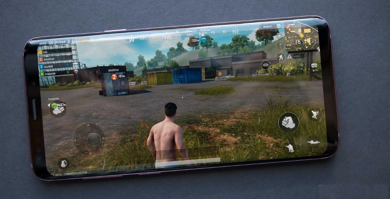 Как будет выглядеть PUBG Mobile на Samsung Galaxy S9