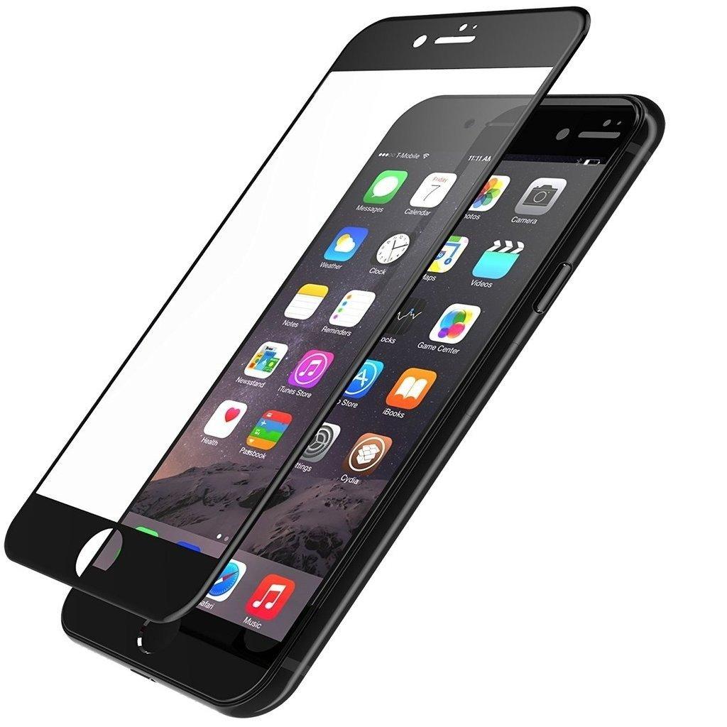 Пример защитного 3D стекла на iPhone