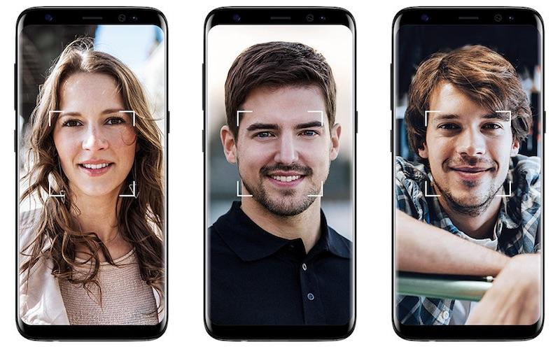 Распознание лица в Samsung Galaxy S9