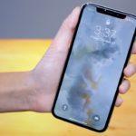 Как включить фонарик или камеру с экрана блокировки iPhone X (10)?