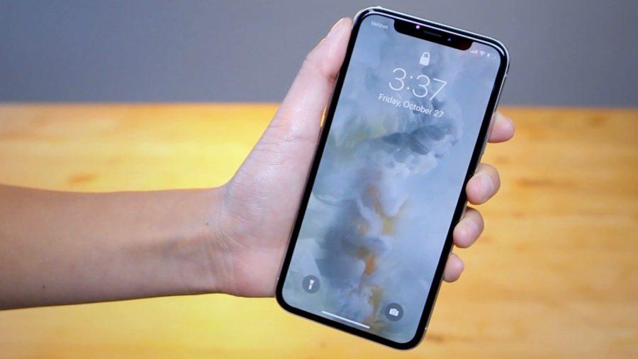 экран блокировки Айфон 10