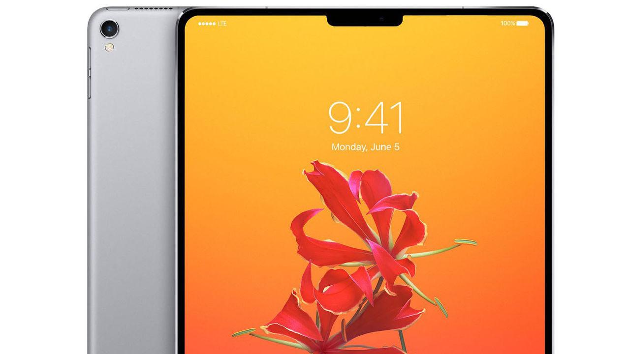 Concept of iPad Pro