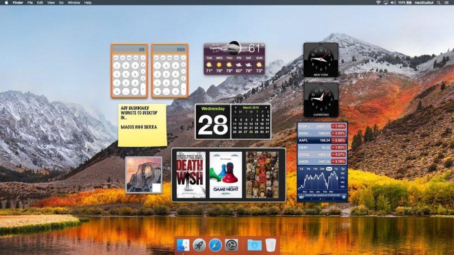 Как удалить Dashboard на Mac OS