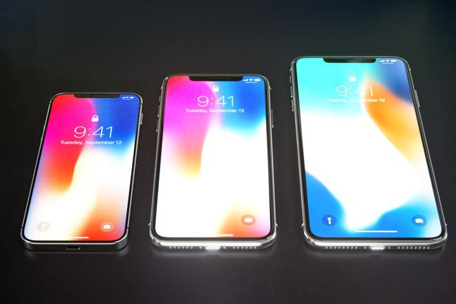 Концепт будущих iPhone в 2018 году