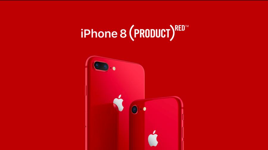 Красный iPhone 8 Plus