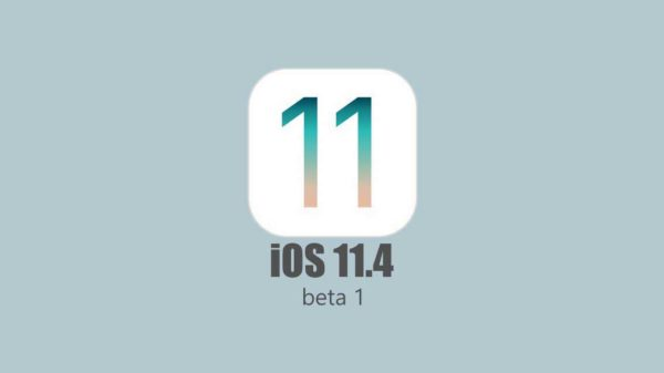 iOS 11.4 beta 1