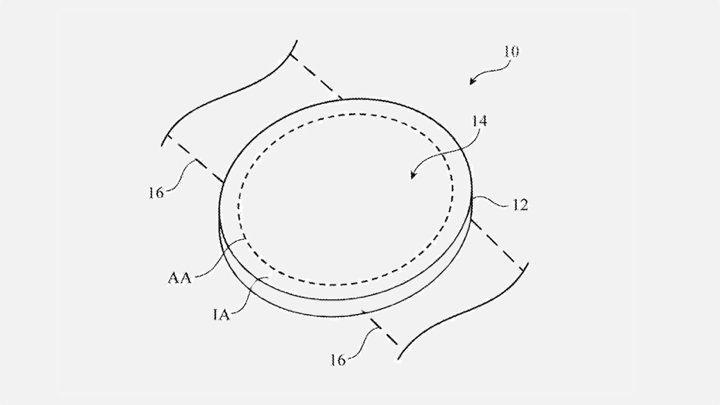 Патент круглых Apple Watch